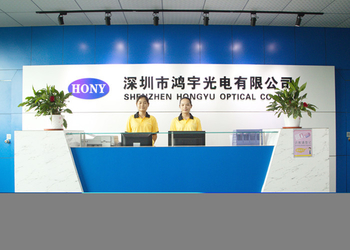 China SHENZHEN HONY OPTICAL CO.,LTD manufacturer profile