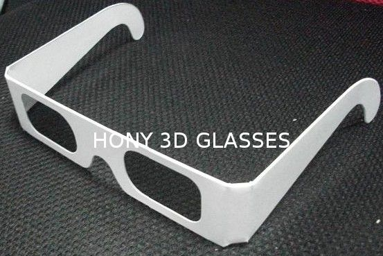Disposable Circular Polarized Plastic 3D Glasses For Reald / Masterimage System