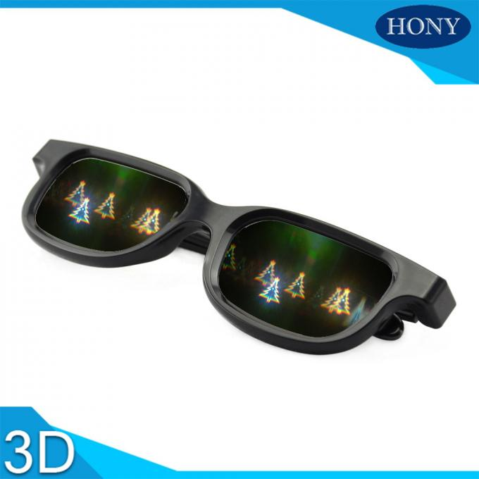 Diffraction Lens 3D Fireworks Glasses For Christmas Party Celebration Use
