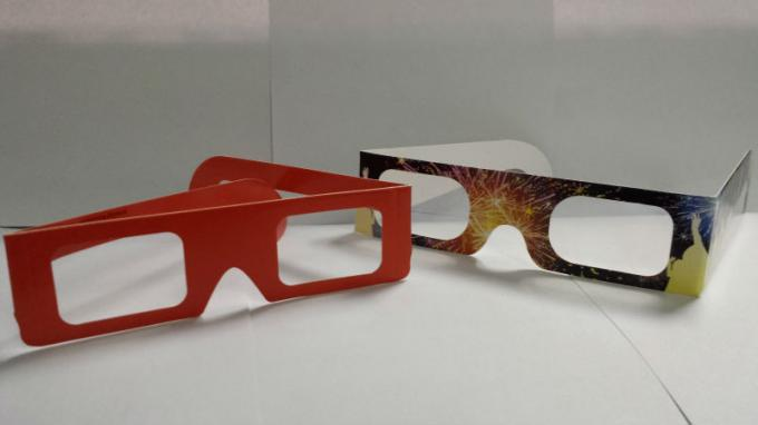 Theater Anaglyph 3d Glasses / 3d Passive Polarized Glasses Universal
