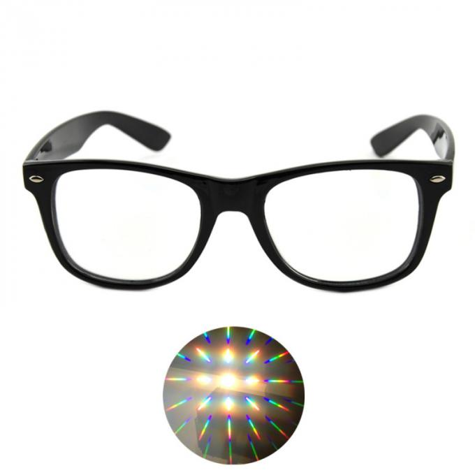 Ultimate Diffraction Glasses - Black Rave Eyewear , Ravewear EDM Festivals