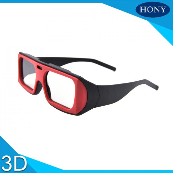 Cheap Real D Circular Polarized 3D Glasses Used on Passive 3D TV Theatre