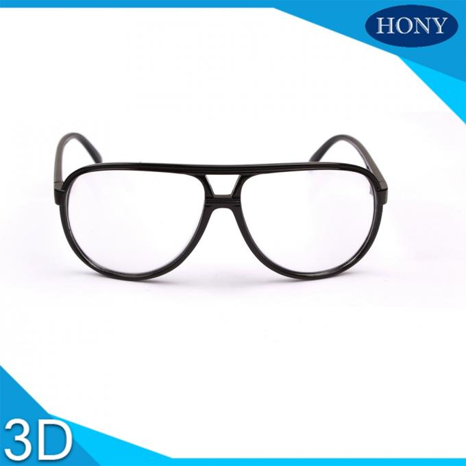 Washable Plastic 3D Glasses Circular Polarized  For Reald Or Masterimage Movie