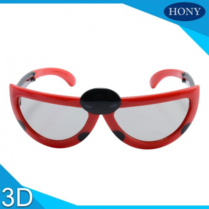 Kids 3D Glasses With Anti Scratch Circular Polarized Lens For Long Time Use