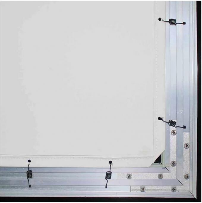 Projection 3D Fixed Frame Screen Aluminum Material Coated Easy Cleaning