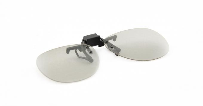Imax Cinema 3D Linear Polarized Glasses Clip Frame For Near - Sighted