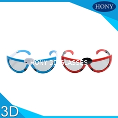 China Kids Folding Model Linear Polarised 3d Glasses With 0.7mm Thicknesss Lens supplier