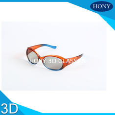 Children Circular Polarized 3d Player , 3d Polarized Glasses 0.7mm Thickness Pc Frame