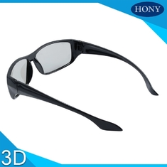Logo Printed Circular Polarized 3D Glasses For Reald Or Masterimage Cinema System