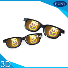 China Diffraction Lens 3D Fireworks Glasses For Christmas Party Celebration Use supplier