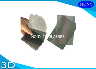 Square Shape Polarizing Film Lcd , 32 Inch Polarising Film Sheet  With Self Adhesive