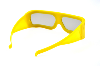 China Big Size Linear Polarized 3D Glasses , Movie Theater 3D Glasses supplier
