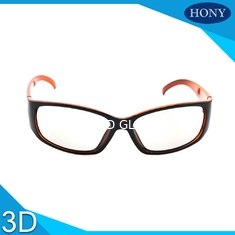 China Reald  PC Plastic Circular Polarized 3D Glasses For 3D Movies supplier