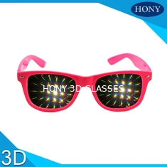 China Diffraction glasses clear 13500 lines per inch for firework glasses supplier