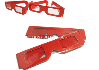 China Theater Anaglyph 3d Glasses / 3d Passive Polarized Glasses Universal supplier