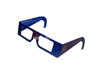 Paper Passive Stereoscopic 3d Glasses / Clear Lens 3d Glasses Universal