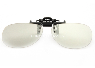China Unisex Adult Polarized 3D Clip-on Glasses RealD for Theatre Eyewear supplier