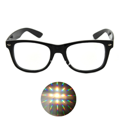 China Ultimate Diffraction Glasses - Black Rave Eyewear , Ravewear EDM Festivals supplier