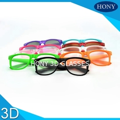 Circular Polarized 3D Glasses For Real D Cinema System Passive 3D