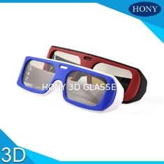 China Cheap Real D Circular Polarized 3D Glasses Used on Passive 3D TV Theatre supplier