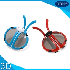 China Kids 3D Glasses With Anti Scratch Circular Polarized Lens For Long Time Use supplier