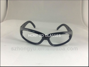 China 3D Polarized Glasses Passive Circular Polarized Eeywear For Cinema Use supplier