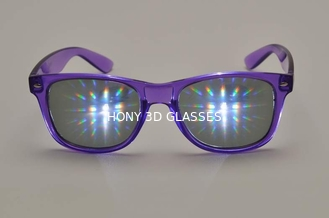 China Light Shows Plastic 3D Fireworks Glasses Thicken Lens CE FCC RoHS supplier