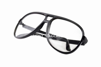 China Washable Plastic 3D Glasses Circular Polarized  For Reald Or Masterimage Movie supplier