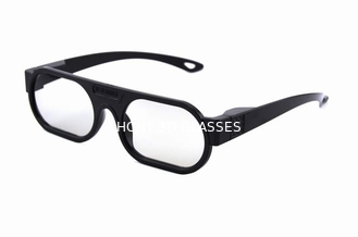 China Light Weight Plastic Linear Polarized 3D Glasses For Home Theater supplier