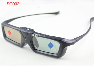 China Infrared Active Shutter 3D TV Glasses Universal With Mini USB Connector supplier