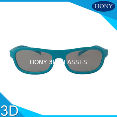 China Polarizer Film 3D movie glasses Printed Logo ABS Plastic frame material supplier