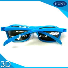 Polarizer Film 3D movie glasses Printed Logo ABS Plastic frame material