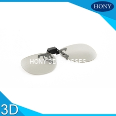 China Imax Cinema 3D Linear Polarized Glasses Clip Frame For Near - Sighted supplier