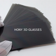 "China Adhesive 32 / 55 "" Polarized Film Sheet Matt Glossy Material For Samsung LCD TV supplier"