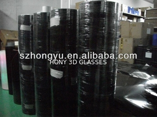 China Polarized Film Make 3D Glasses Sheet And Roll Material Circular Polarztion Film supplier