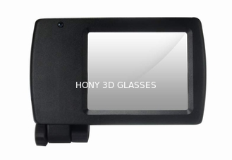 Portable Polarized 3D Cinema Systems