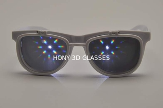 China Custom Plastic Diffraction Lens Glasses , 0.65mm Thickness Lens supplier