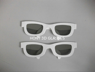 Disposable Paper Cardboard active shutter glasses For TV Or Computer