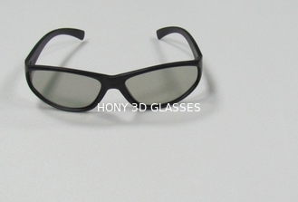 China PC Plastic Circular Polarized 3D Glasses For Acer HP Laptop ROHS supplier