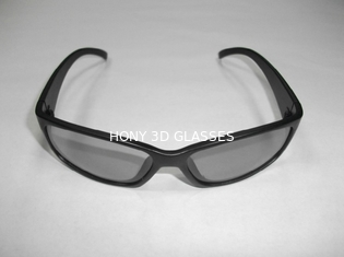 China Anaglyph Plastic Circular Polarized 3D Glasses For Reald Cinema supplier