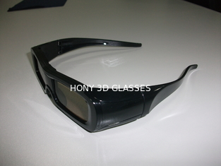 China Sharp Active Shutter 3D Glasses , Universal 3D TV Glasses Rechargeable supplier