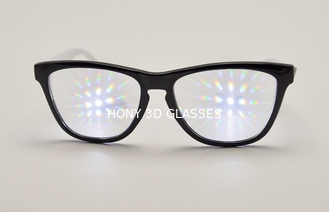 China Plastic 3D Fireworks Glasses Customized Diffraction , rainbow glasses supplier