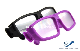 China Plastic Frame Circular Polarized 3D Glasses Anti Scratch For Cinema supplier
