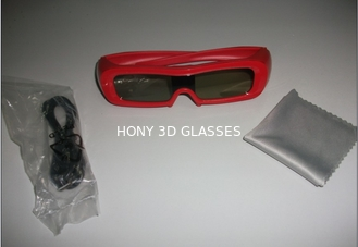 China Universal Plastic 3D Glasses Active Shutter , Anaglyph 3D Glasses supplier