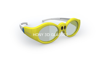 Cinema Stereo Digital Active 3D Glasses Artistic Design With Elegance Appearance
