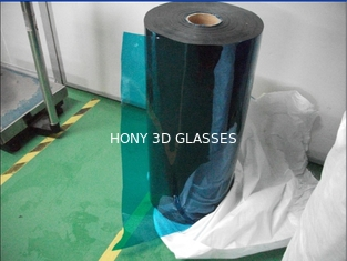 3D Glasses PET LCD Polarizer Film Sheet 0.17mm Thick High Transmissive