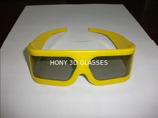 China ABS Frame Unfoldable Arms Linear Polarized 3D Glasses Designer Eyewear supplier