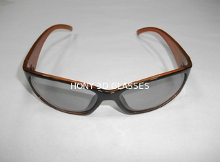 Cinema Use Plastic Circular 3D Polarized Glasses Sunglasses CE FCC RoHS
