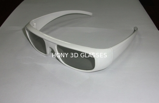China Hard Coating Frame Anti Scratch Passive 3D Glasses For Movie Theater Use supplier