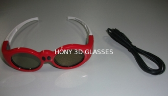 China Big Rechargeable Xpand 3D Shutter Glasses For Kids , Movie 3D Glasses supplier